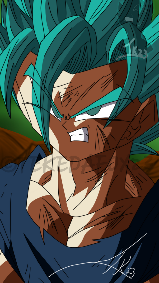 dbs super saiyan blue 2 goku by tekedafox23 on deviantart