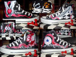 My Hand painted Twilight All Star Converses