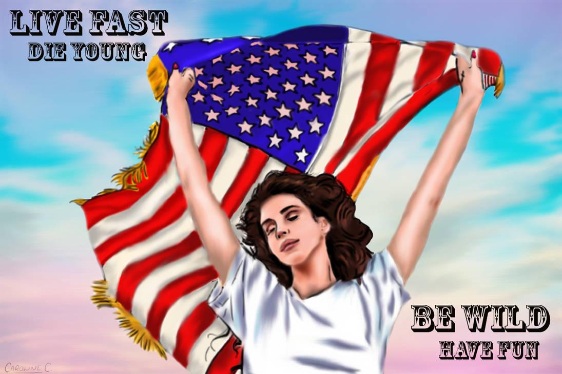 Lana Del Rey Ride By Awakemyysoul On Deviantart