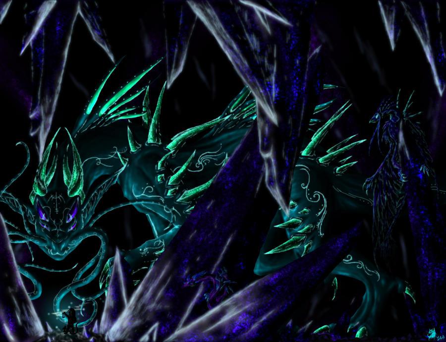 Crystal Beings by KaiyaDemon