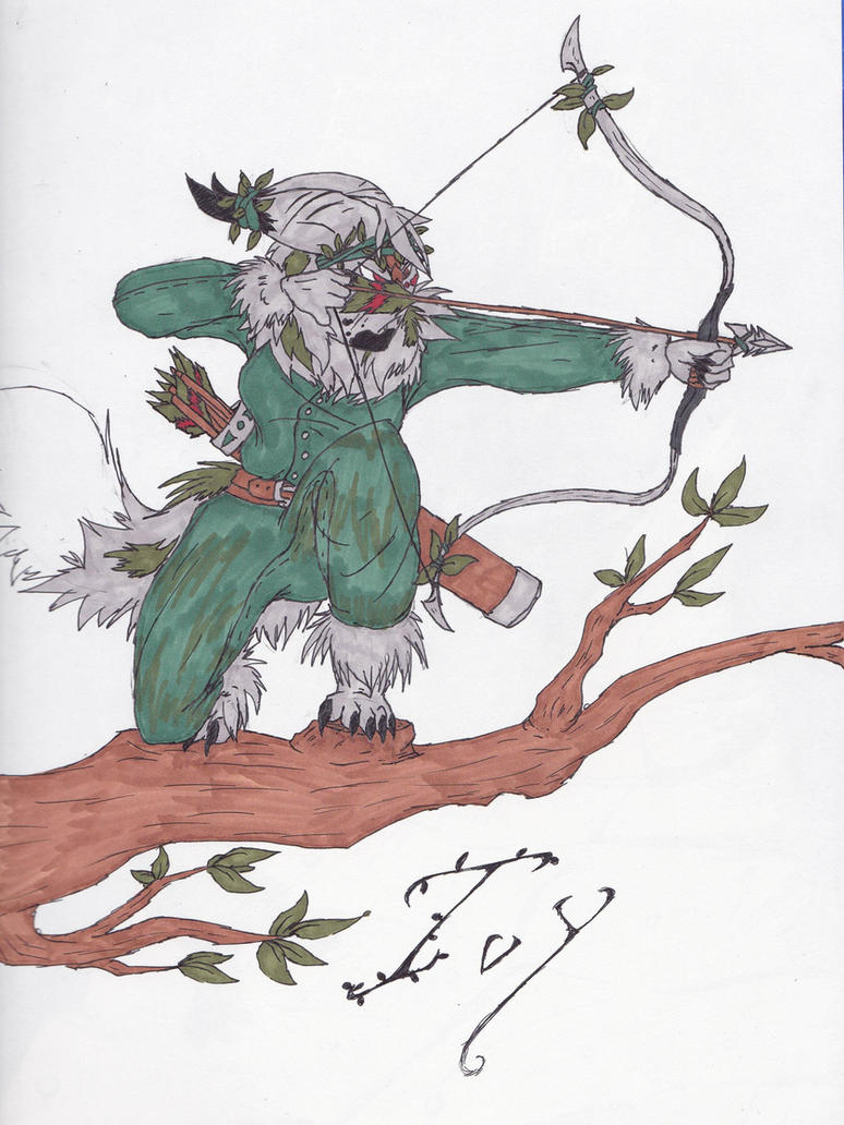 Ivy Humanoid by KaiyaDemon