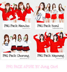 PNG Pack Apink Cut By Jung Cari by Jungcaricancer