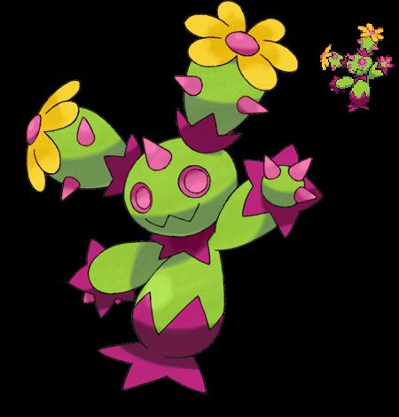 Pokemon 5G Shiny Maractus by etherspear on DeviantArt