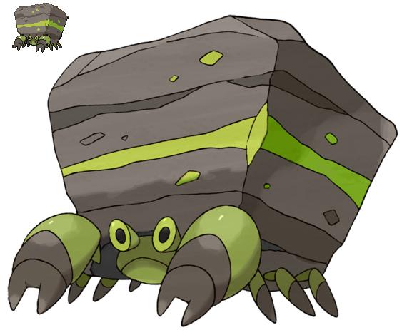 Pokemon 5G Shiny Crustle by etherspear on DeviantArt