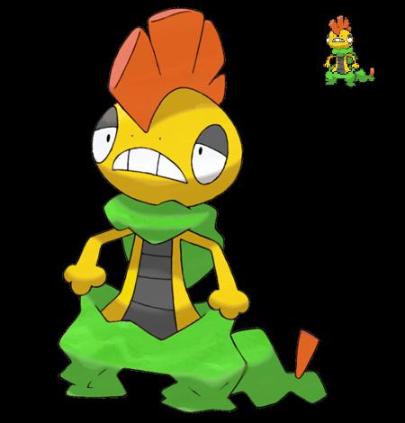 Pokemon Shiny Hunting =O Pokemon_5g_shiny_scrafty_by_etherspear-d3erdyy