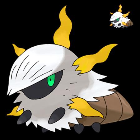 Pokemon 5G Shiny Larvesta by etherspear on DeviantArt