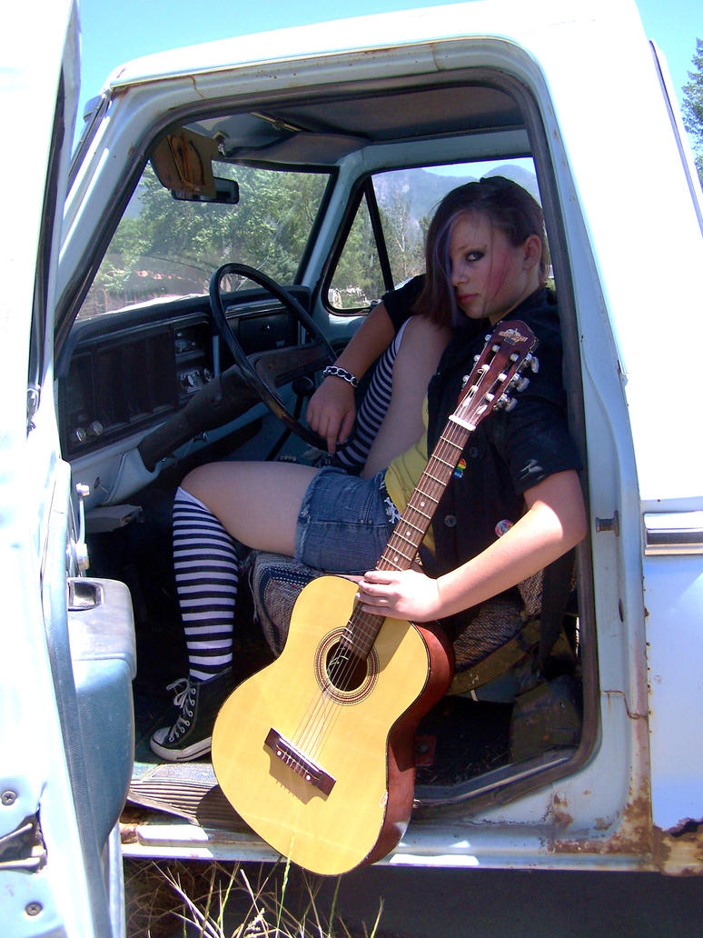 Old Trucks and guitars by kenzeec on DeviantArt