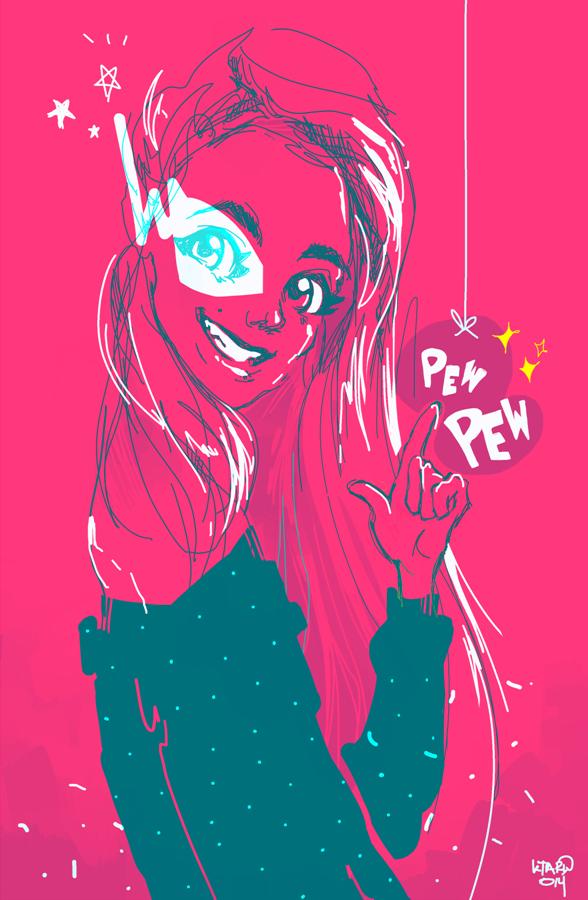 Pew Pew by K-taru