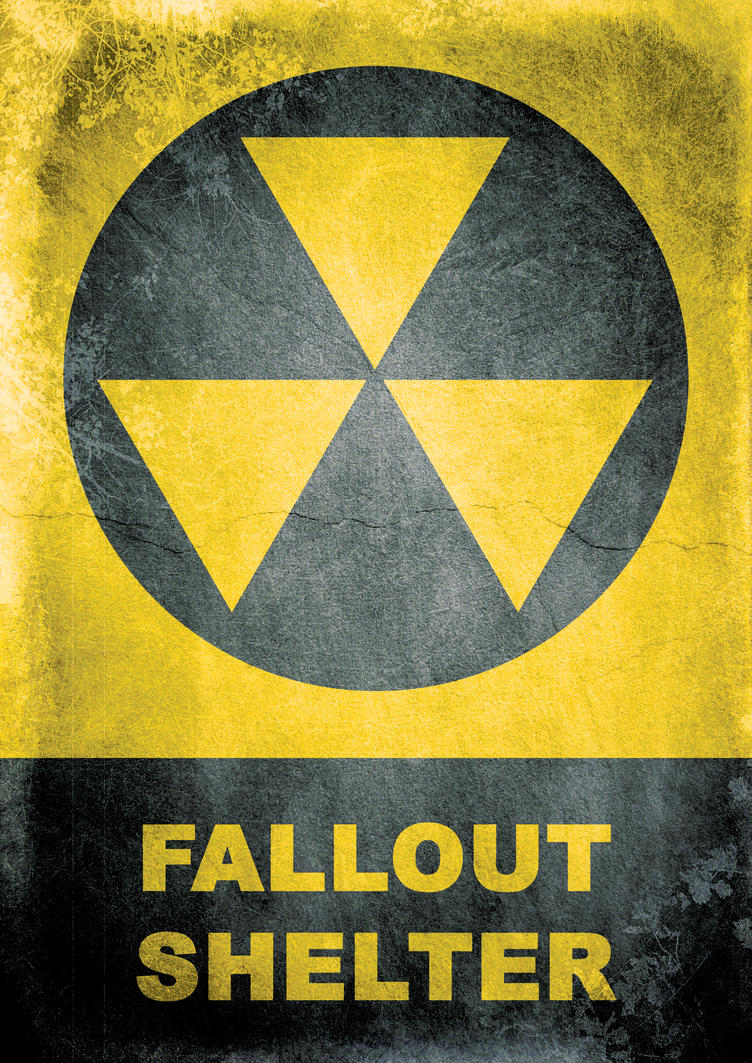 Fallout Shelter Sign By Mergorti On Deviantart