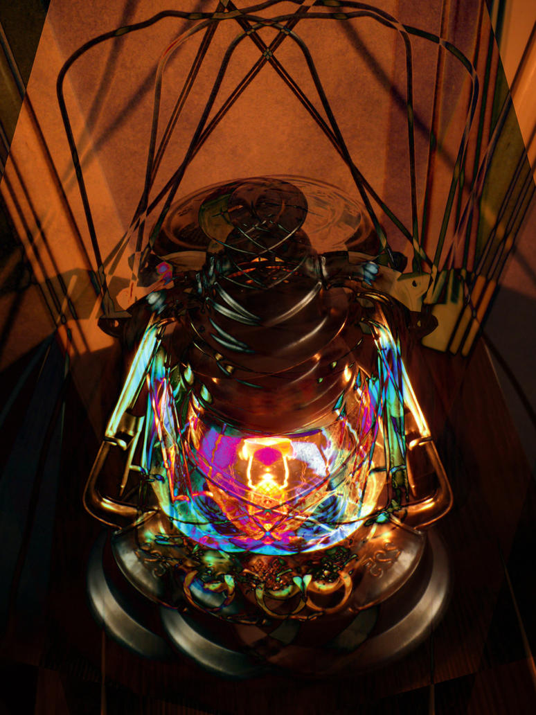 Lantern of life by Mergorti