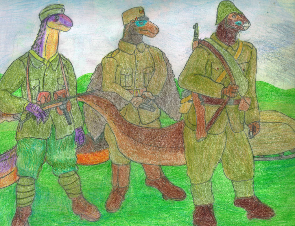 Romanian Soldiers by Bellumsaur