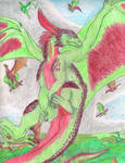 Flying Dergs by Bellumsaur