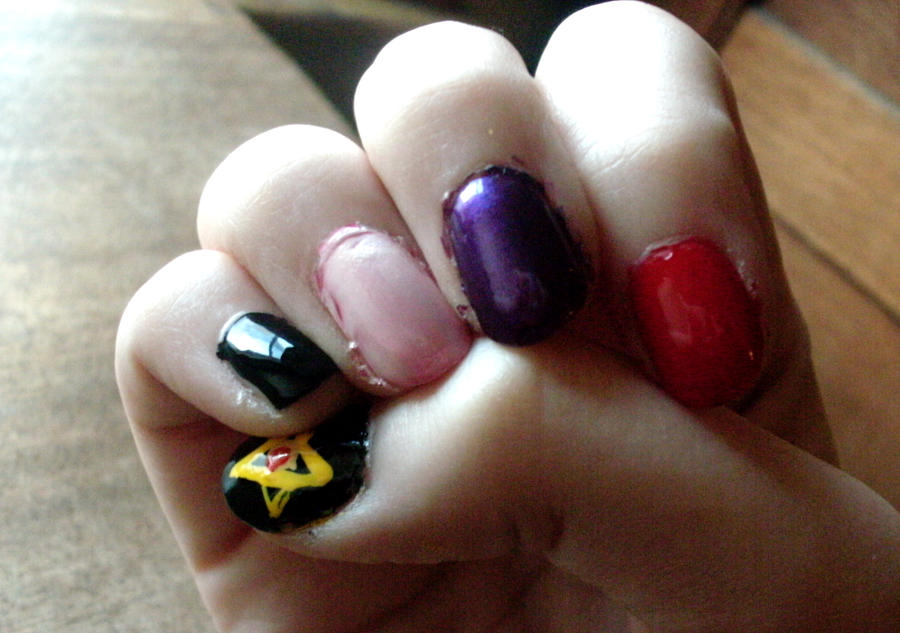 Alois Trancy Nails: Take II by flying-pyro-of-doom on DeviantArt