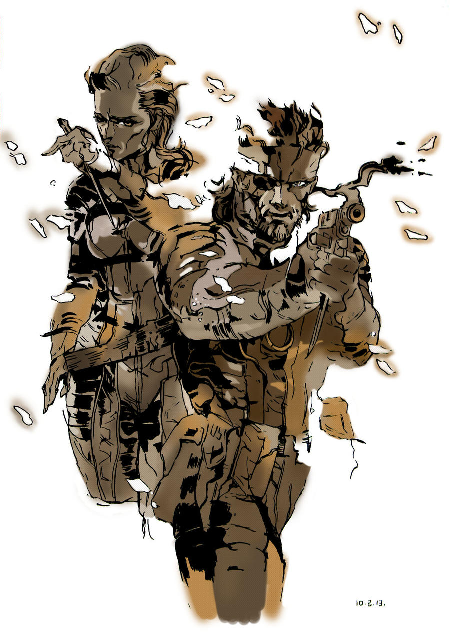 metal gear solid 3ds cover art metalgearsolid