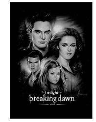 Twilight Breaking Dawn Part 2 mini Poster by rampantimaginationA