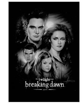 Twilight Breaking Dawn Part 2 mini Poster