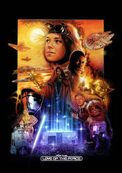 The Force Awakens Poster Small