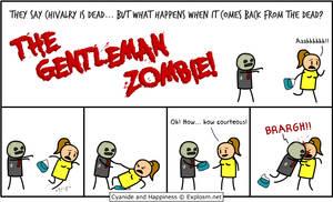 The Gentleman Zombie by MattMelvin