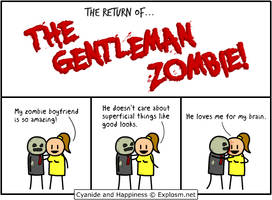 Return of the Gentleman Zombie by MattMelvin
