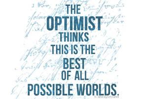The Optimist by alwaysfound