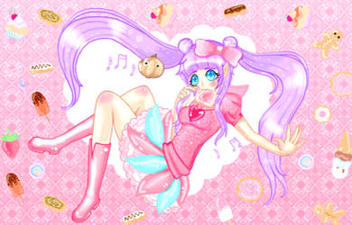 Candy Candy Candy Request! by Hugglechan