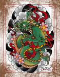 Dragon by jongrestytattoo