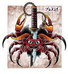 Demon Crab by jongrestytattoo