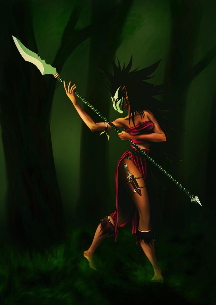 Jungle Tribe by niladridas