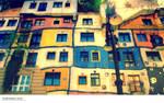 Hundertwasser-KrawinaHaus Wien by deliverySushi