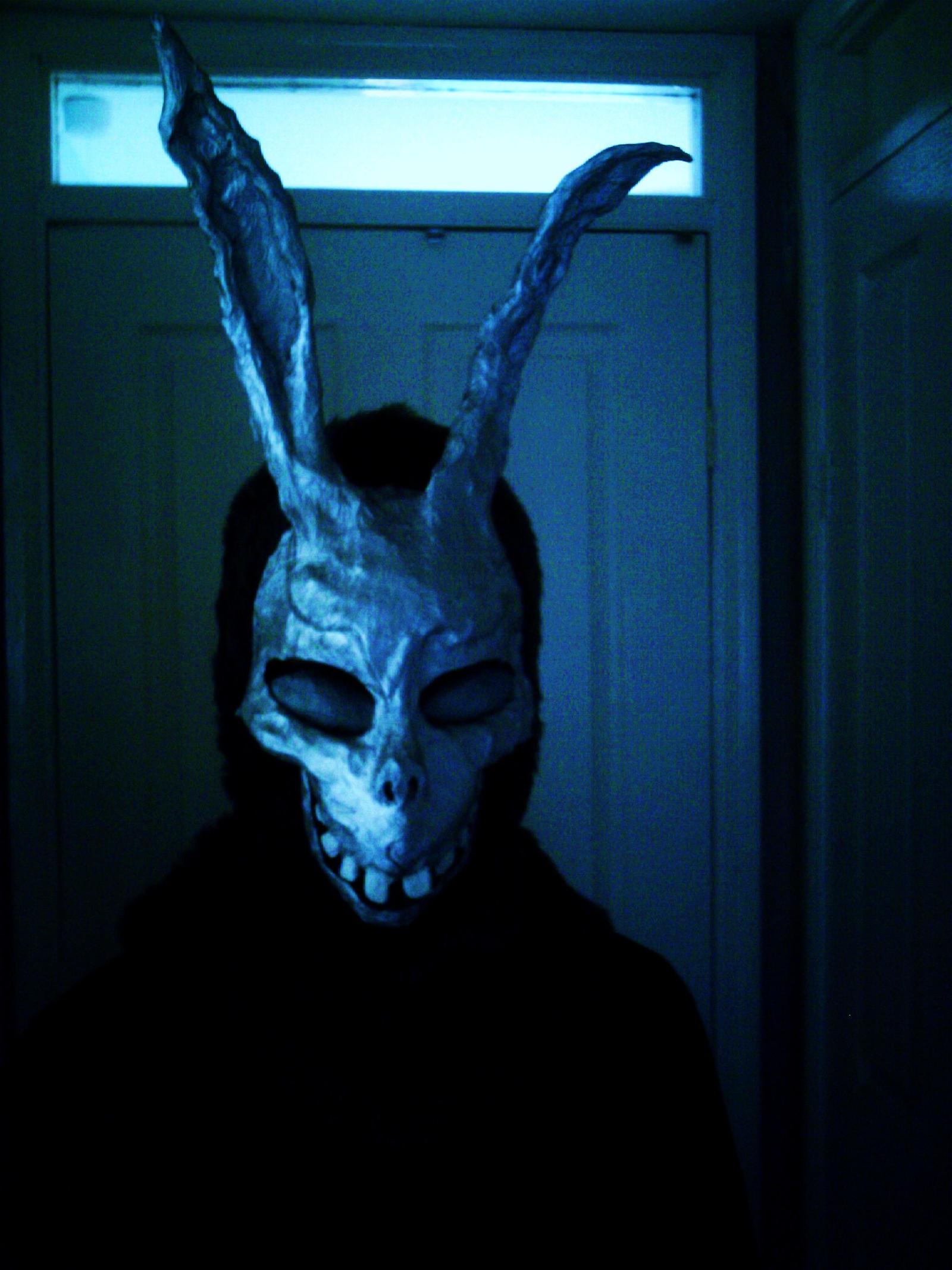 Frank the Rabbit mask by braindeadmystuff on DeviantArt