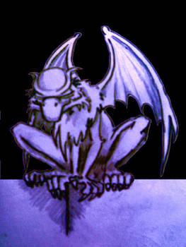 Gargoyle sketch black