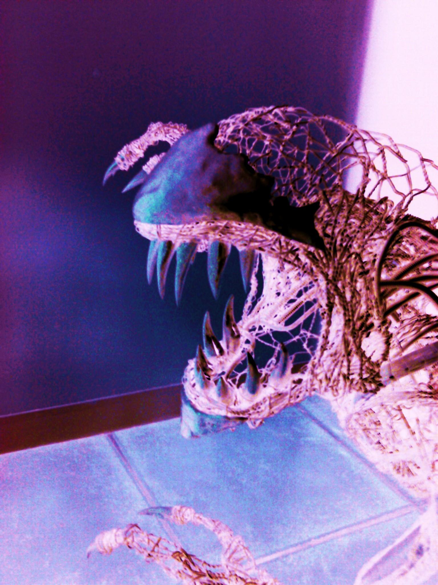 Alien sculpture update6 by braindeadmystuff