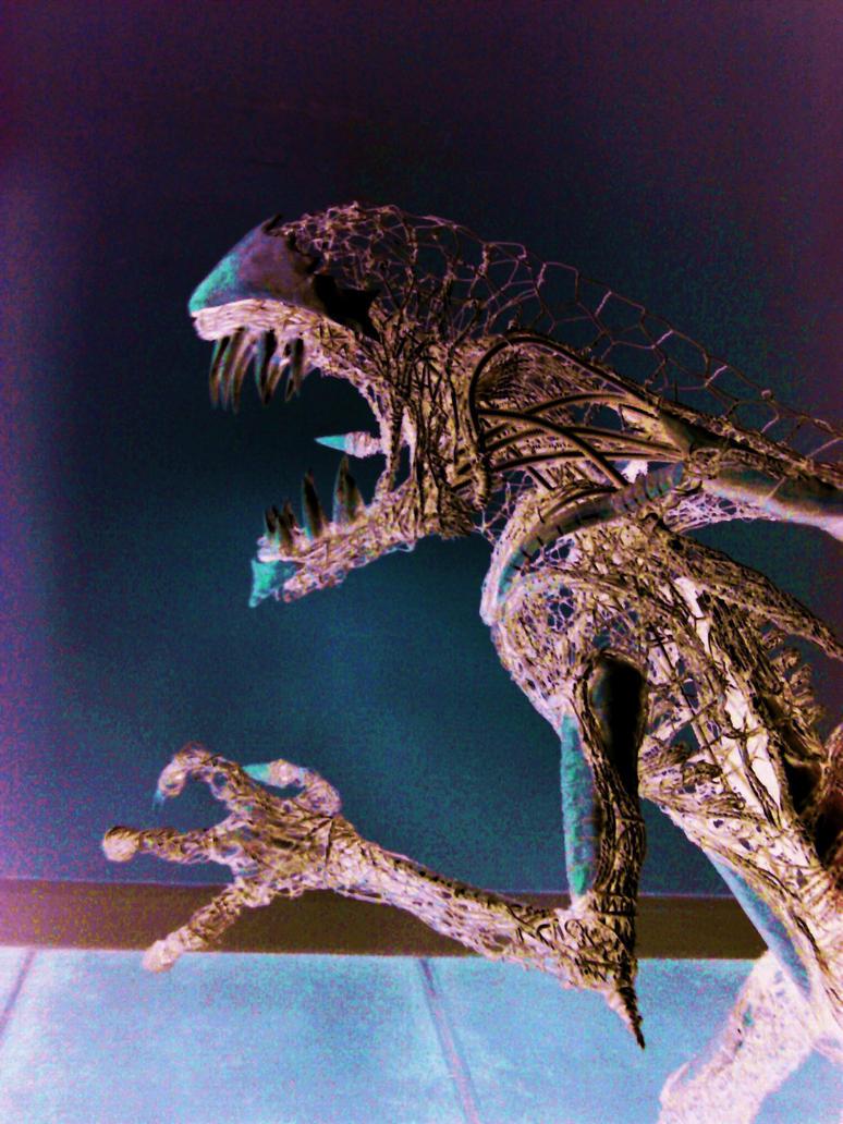 Alien sculpture update9 by braindeadmystuff