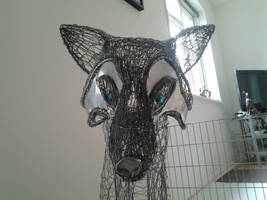Fox sculpture wip13