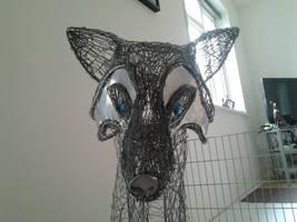 Fox sculpture wip13