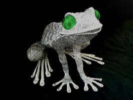 Frog sculpture10