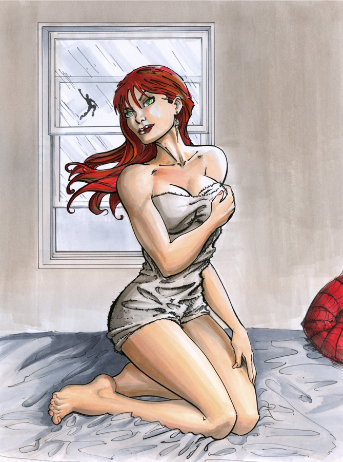 Mary Jane marker by cehnot