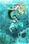 Mermaid and friend marker