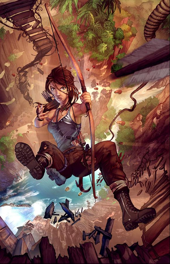 LaraCroft Reborn color v1 by cehnot