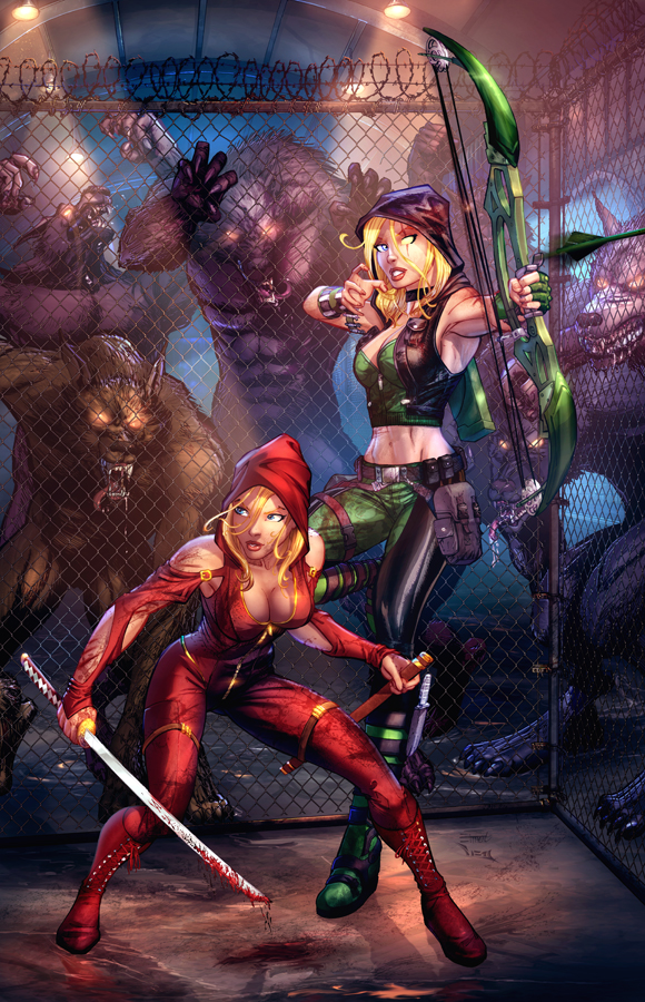 Robyn Hood: Ongoing #5 Cover C by cehnot