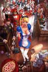 Alice in Wonderland colors