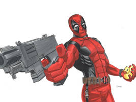 Deadpool Marker by cehnot