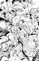 Ghost in the Shell: Motoko inks