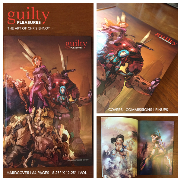 Guilty Pleasures Artbook production photos by cehnot