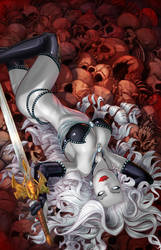 Lady death cover by cehnot