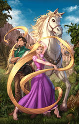 Rapunzel Remastered by cehnot