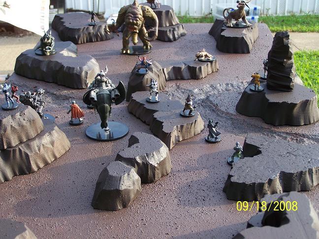 Badlands Battle 02 by wolf74145