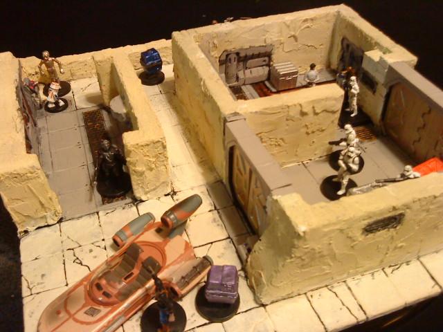 SW Tatooine Mos Eisley Terrain by wolf74145
