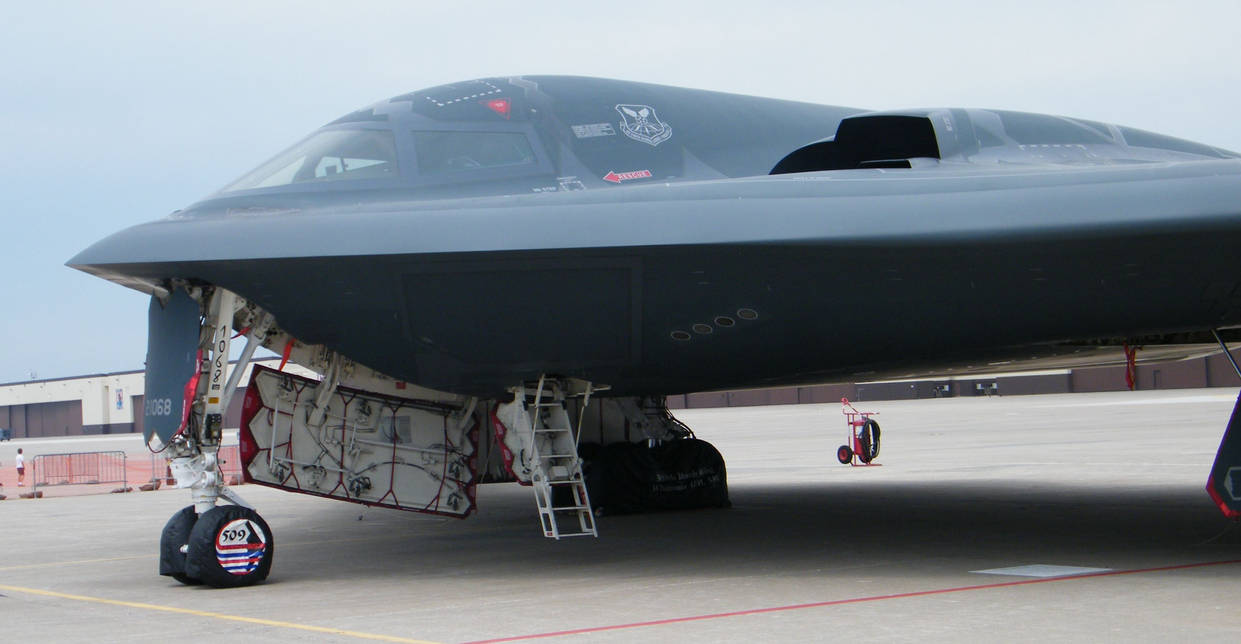B2 Bomber on static display 02 by wolf74145 on DeviantArt