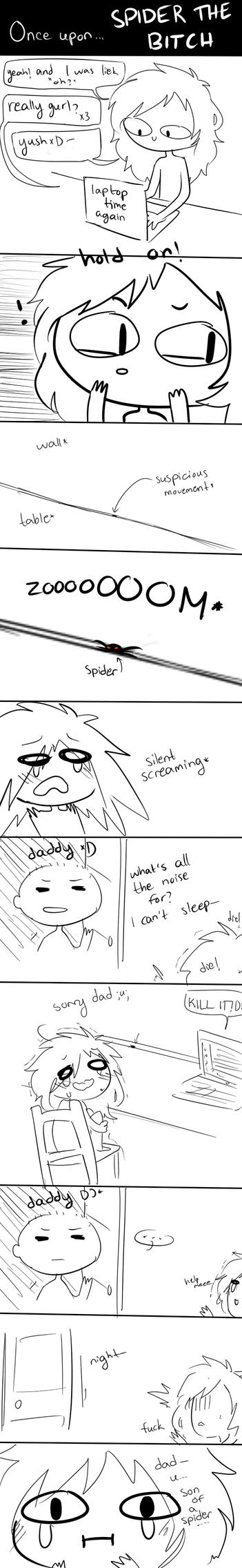 once upon...SPIDER the BITCH by Miiukka